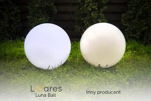 Dekoratív kerti labdák szett 25 cm 30 cm 40 cm + 3x RGB Led + Remote small 2